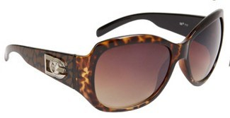 DE717 – Big Fashion Sunglasses with Logo