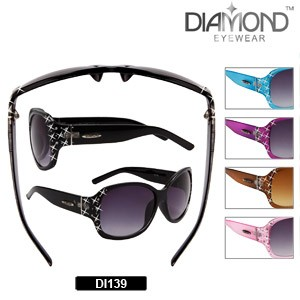 c2af918c585 Diamond Discount Rhinestone Sunglasses DI139