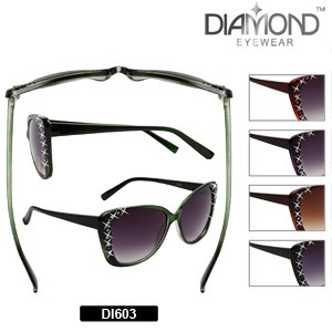 c10348a3944 Rhinestone CatEye Sunglasses Discounted