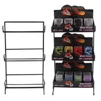 Counter Top Lighter Display Rack 7079