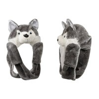 """Wolf with Long Arms"" Wholesale Cap A110"