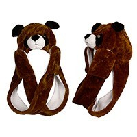 """Brown Puppy with Long Arms"" Wholesale Cap A114"