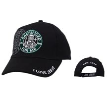 """SACRIFICED FOR ME""  Wholesale Cap C116"