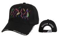 """Native Pride-Snake Dance"" Wholesale Cap C5195"