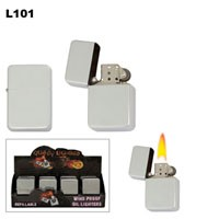 Polished Chrome Wholesale Lighters L101
