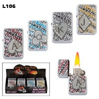 """Casino Cards"" Wholesale Lighters L106"
