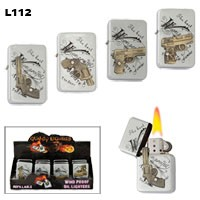 Assorted Handguns Wholesale Lighters L112