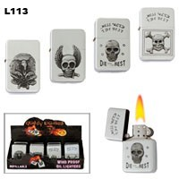 Assorted Skulls Wholesale Lighters L113