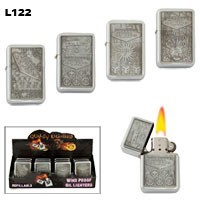 "Assorted ""Las Vegas"" Wholesale Lighters L122"