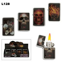 Assorted Skulls Wholesale Lighters L128