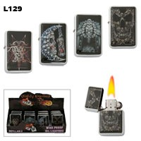 Assorted Skulls Wholesale Lighters L129