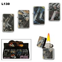 Assorted Handguns Wholesale Lighters L130