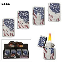 "Assorted ""American Legend"" Wholesale Lighters L146"