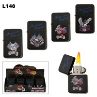 "Assorted ""American Legend"" Wholesale Lighters L148"