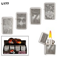 Assorted Casino Wholesale Lighters L177