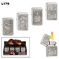 Assorted Grim Reaper Wholesale Lighters L179