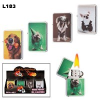 Assorted Dog Wholesale Lighters L183