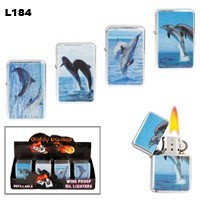 Assorted Dolphin Wholesale Lighters L184