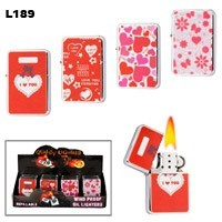 Assorted Hearts Wholesale Lighters L189
