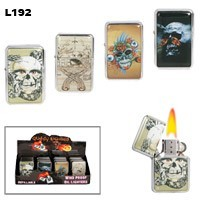 Assorted Skull Wholesale Lighters L192