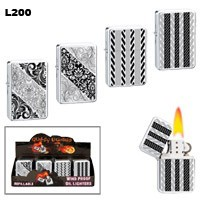 Etched Designs Wholesale Lighters L200