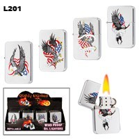 Assorted American Legend Wholesale Lighters L201