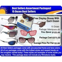 15 Dozen Sunglasses Assorted Styles  SPA5