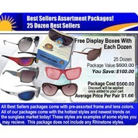 25 Dozen Sunglasses Sample Pack  SPA6