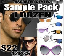 Wholesale Sunglasses Sample Pack  SPA1