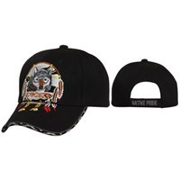 """NATIVE PRIDE WOLF""  Wholesale Cap C121"