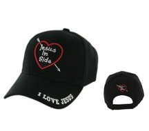 """JESUS IN SIDE""  Wholesale Cap C563"