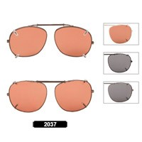 Wholesale Clip On Sunglasses 2037
