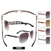 Wholesale Aviator Sunglasses 32424