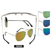 Wholesale Aviator Sunglasses 36028