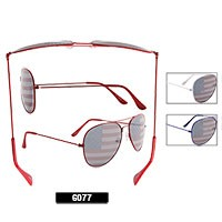Wholesale Aviator Sunglasses 6077