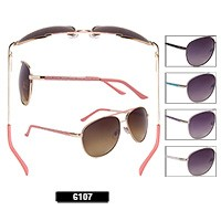 Wholesale Aviator Sunglasses 6107