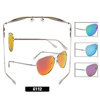 Wholesale Aviator Sunglasses 6112