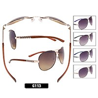 Wholesale Aviator Sunglasses 6113