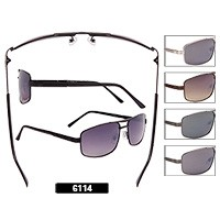 Wholesale Aviator Sunglasses 6114