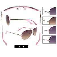 Wholesale Aviator Sunglasses 6115