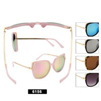 Wholesale Cateye Sunglasses 6156
