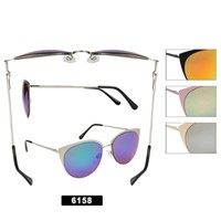 Wholesale Cateye Sunglasses 6158