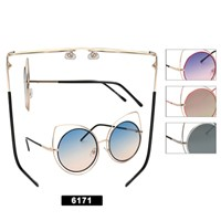 Wholesale Cat Eye Women Sunglasses 6171