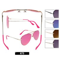 Wholesale Aviator Sunglasses 675