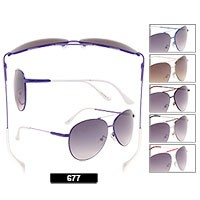 Wholesale Aviator Sunglasses 677