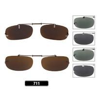 Wholesale Polarized Clip On Sunglasses 711C