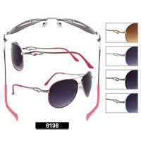 Wholesale Aviator Sunglasses 8198