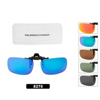 Wholesale Polarized Clip On Flip-up Style 8270