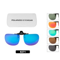 Wholesale Polarized Clip On Flip-up Style 8271