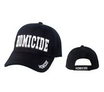 """HOMICIDE""  Wholesale Cap C1045"